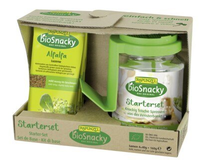 Rapunzel sprouting glass starter set - bioSnacky/