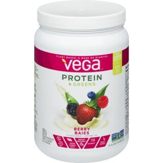 Vega Protein & Greens - Berry Flavour container - 609 g