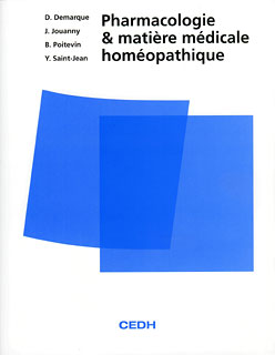 Pharmacologie et matière médicale homéopathique - Copies imparfaites/Denis Demarque / Jacques Jouanny / Bernard Poitevin / Yves Saint-Jean