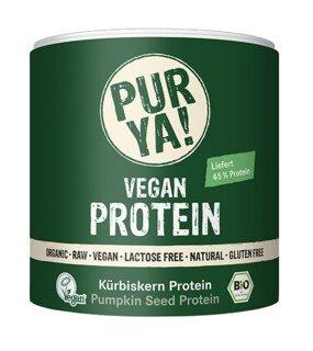 PURYA! Bio Vegan Protein - Kürbiskern Protein, Dose - 250 g/