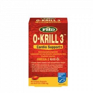 O Krill 3 - Huile de krill Oméga 3  Ugo's Choice  60 gélules en gélatine/