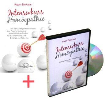 Intensivkurs Homöopathie - Set - Buch und DVD, Rajan Sankaran