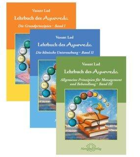 Set - Lehrbuch des Ayurveda - in 3 Bänden/Vasant Lad