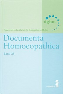 Band 28 - Documenta homoeopathica/