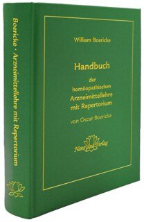 Handbuch der homöopathischen Arzneimittellehre mit Repertorium, William Boericke / Oscar Boericke