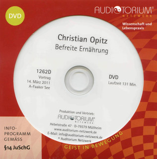 Befreite Ernährung - 1 DVD/Christian Dittrich-Opitz