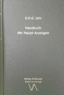 Handbuch der Haupt-Anzeigen/Georg Heinrich Gottlieb Jahr