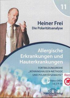 Fortbildungsreihe Bönninghausen-Methode und Polaritätsanalyse - Modul 11: Allergien und Hauterkrankungen - 2 DVDs, Heiner Frei