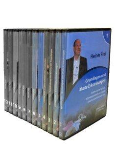 Set: Fortbildungsreihe Bönninghausen-Methode und Polaritätsanalyse - Modul 1 bis 12 - 21 DVD´s, Heiner Frei