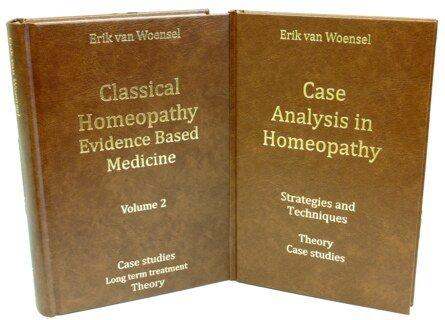 Set: Case Analysis in Homeopathy & Classical Homeopathy Evidence Based Medicine vol. 2, Erik van Woensel