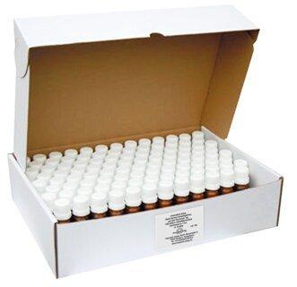 Glass vial with 10 g unmedicated pillules size No.6 - 100 pieces/Narayana Verlag
