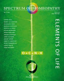 Spectrum of Homeopathy 2011-2, Elements of Life - E-Book, Narayana Verlag