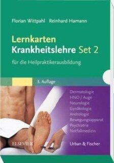 Lernkarten Krankheitslehre II für die Heilpraktikerausbildung - Mängelexemplar/Florian Wittpahl / Reinhard Hamann