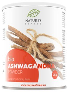 Poudre d'Ashwagandha Bio - 125 g/