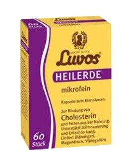 Luvos® Heilerde mikrofein - 60 Kapseln