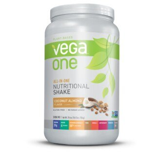 Vega One all-in-one Nutritional Shake  Noix de coco, amandes, boîte 834 g/