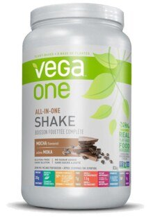 Vega One All-In-One Nutritional Shake - Mocha, container 836 g
