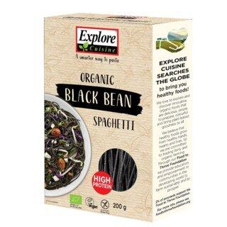 Schwarze Bohnen Spaghetti Bio - 200 g/