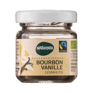 Bourbon Vanille gemahlen bio - Naturata - 10 g/