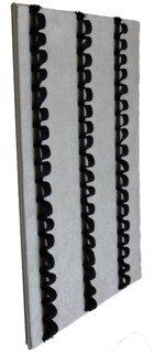 Schlaufentablett für Ø 1,3-1,5 cm Phiolen 3 x 18 Schlaufen, grau