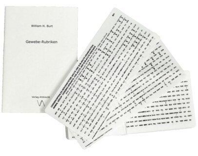 Gewebe-Rubriken, William H. Burt
