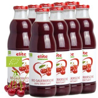 Pur jus de griottes Bio- Elite Naturel- 9 x 700 ml/