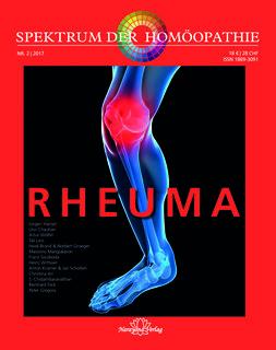Spektrum der Homöopathie 2017-2, Rheuma - Sonderangebot/Narayana Verlag