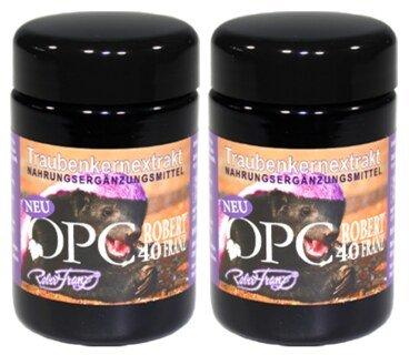 OPC 133 - poudre de polyphénols de pépins de raisin - Robert Franz 2 x 60 gélules/