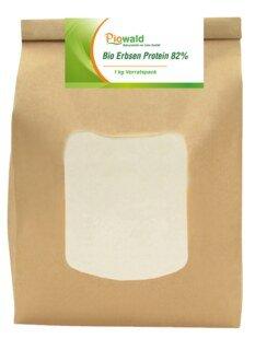 Protéines de pois Bio 82 % -  1 kg/