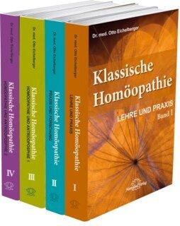"""Set der Schriftenreihe """"Klassische Homöopathie"""" in 4 Bänden, Otto Eichelberger"""