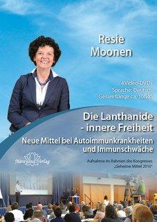 Die Lanthanide - innere Freiheit - 4 DVD's/Resie Moonen