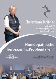 """Homöopathische Tierpraxis in """"Problemfällen"""" - 1 DVD, Christiane P. Krüger"""