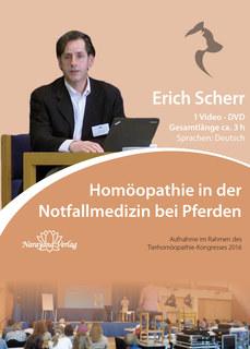 Homöopathie in der Notfallmedizin bei Pferden - 1 DVD - Sonderangebot/Erich Scherr