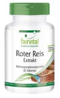 Roter Reis Extrakt 4,5 % Monacolin K - 60 Tabletten/