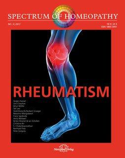 Spectrum of Homeopathy 2017-3, Rheumatism/Narayana Verlag