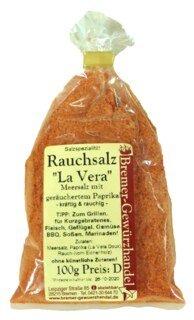 """Rauchsalz """"La Vera"""" Meersalz mit geräuchertem Paprika - 100 g"""
