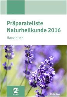 Präparateliste Naturheilkunde 2016 - Mängelexemplar/