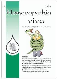 Homoeopathia viva 17-2 Schlangen/Zeitschrift