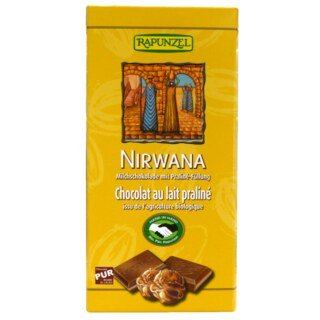 Nirwana Milk Chocolate with Dark Chocolate Filling -Bio- 100 g/