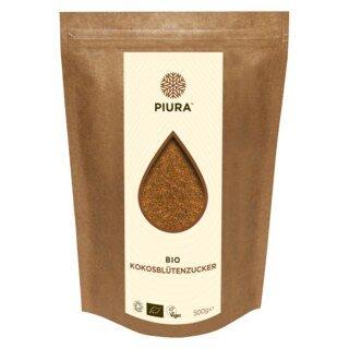 Sucre de fleurs de noix de coco bio PIURA, 500 g