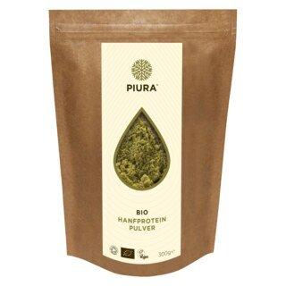 Poudre de protéines de chanvre bio  PIURA- 300 g/