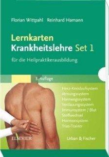 Lernkarten Krankheitslehre für die Heilpraktikerausbildung/Florian Wittpahl / Reinhard Hamann