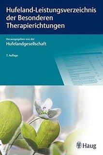 Hufeland-Leistungsverzeichnis der Besonderen Therapierichtungen - Sonderpreis/Hufelandgesellschaft e.V.