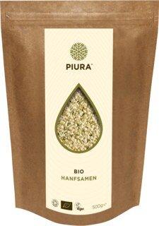 Graines de chanvre décortiquées, bio  PIURA- 500 g/