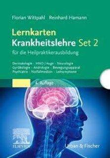 Lernkarten Krankheitslehre Set 2 für die Heilpraktikerausbildung/Florian Wittpahl / Reinhard Hamann
