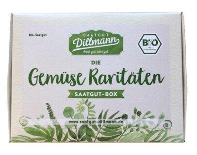 Saatgut Box Gemüse Raritäten Bio/