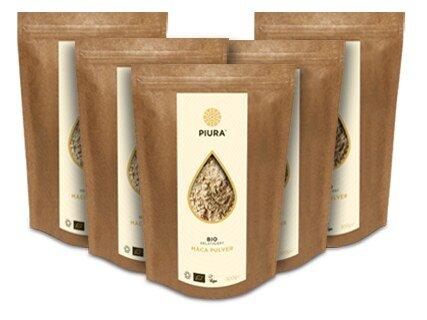 Poudre de racine de maca bio gélatinisée - 5 x 300 g/
