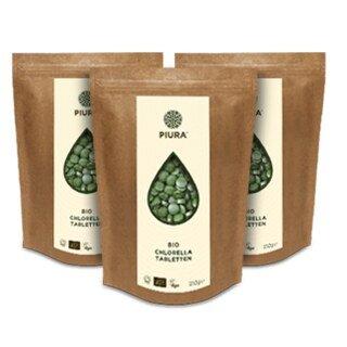Chlorella tablets organic Piura - 250 g/