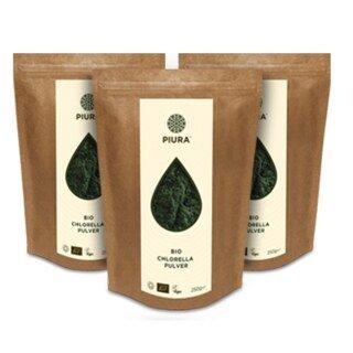 Chlorella bio en poudre, Piura - 250 g/