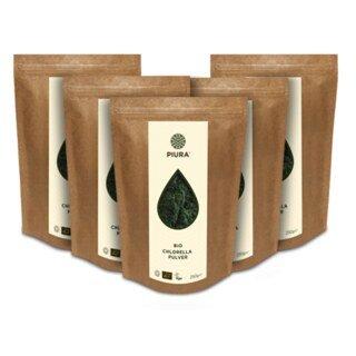 Chlorella bio en poudre, Piura - 5 x 250 g/